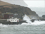 A stormy day in Port Erin - (13/2/05)
