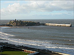Peel Castle and Breakwater - (10/1/05)