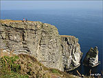 Sara's July Manxscene - The Chasms and Sugar Loaf Rock.