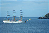 The Tall Ship Dar Mlodziezy in Douglas Bay - (7/7/05)