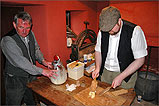 Making Real Manx Butter at Cregneash Village - (2/5/05)