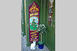 A Manx sign on a shop in Malew Street - (13/11/05)