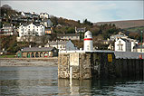 Standing on Laxey outer Harbour - (17/11/05)