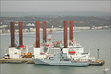 Mayflower Resolution and HMS Severn - (19/10/05)