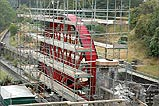 The Snaefell Wheel Project in Laxey - (7/9/05)