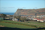 Overlooking Port Erin towards Bradda Head - (8/1/06)