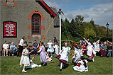 Traditional Maypole Dancers.
