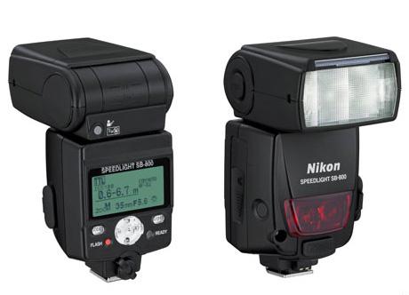 Nikon SB 800 Speedlight Flash