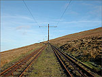 On my way up to the Summit of Snaefell - (19/2/04)