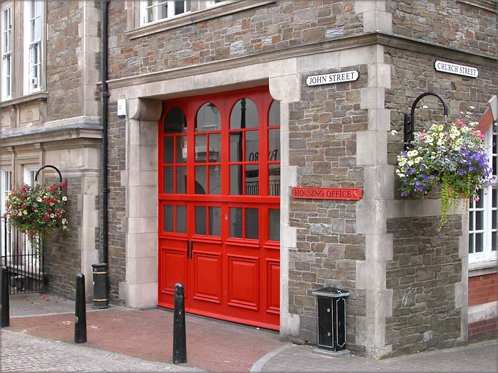The former douglas fire station in john street
