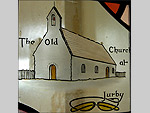 The Old Jurby Church in stained glass - (13/5/04)