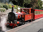 "Steam Train ""Loch"" at Douglas Railway Station - (1/9/03)"