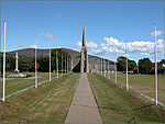 The ceremonial path to Tynwald Hill - (6/9/03)