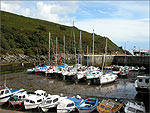 Low tide at Laxey Harbour - (11/9/03)